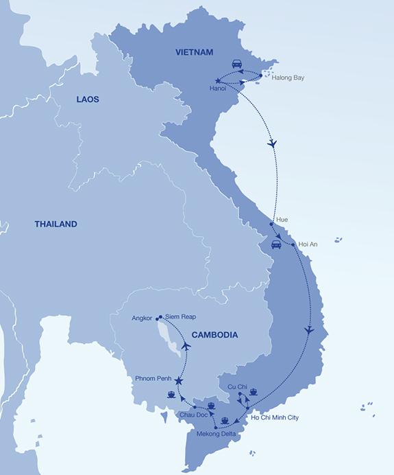 indochina_15days-vittravel-map